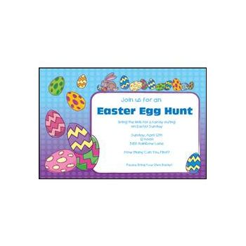Easter Party Personalized Invitations