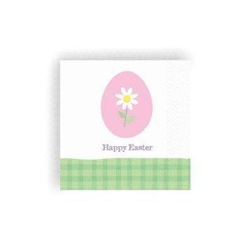 EASTER EGG BEVERAGE NAPKINS