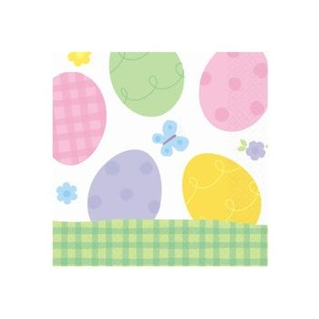 EASTER EGG LUNCHEON NAPKINS