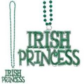 Irish Princess Bead Necklace-36""