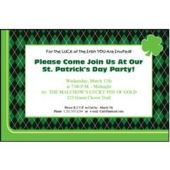 Irish Pub Personalized Invitations