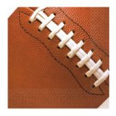 Football Fan Beverage Napkins - 16 Pack