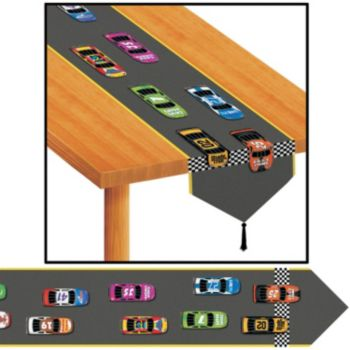 RACING CAR TABLE RUNNER
