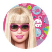 "Barbie Doll 7"" Plates - 8 Pack"