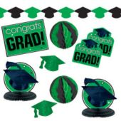 Green Graduation Decoration Kit