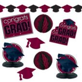 Maroon Graduation Decorating Kit