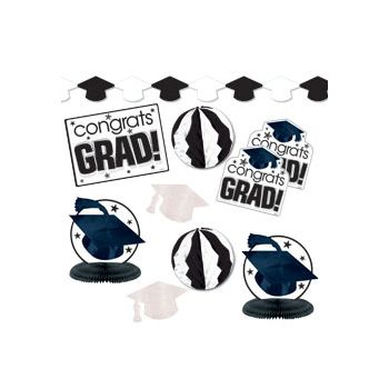 White Graduation Decorating Kit