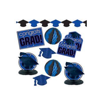 Blue Graduation Decorating Kit