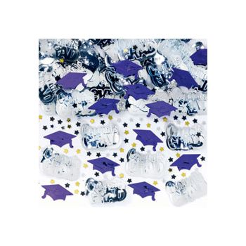 Purple Graduation Confetti