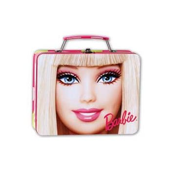 BARBIE DOLL METAL BOX