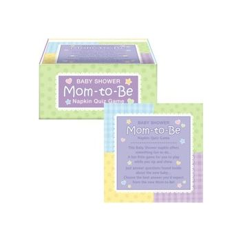 MOM TO BE BEVERAGE NAPKINS