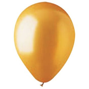 Gold Latex Balloons - 12 inch, 100 Pack