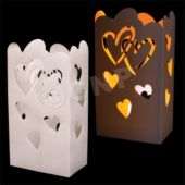 Heart Cutout Luminary Bag Inserts - 50 Pack