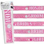 Bridal Party Sashes - Unit of 5