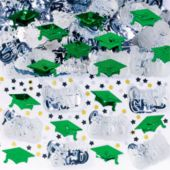 Green Graduation Confetti