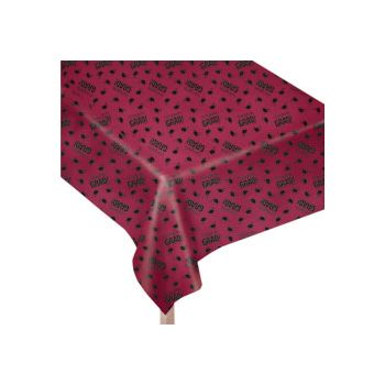 Maroon Graduation Table Cover