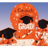 Orange Graduation  Centerpiece Kit