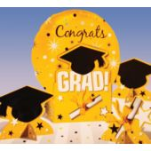 Yellow Graduation Centerpiece Kit