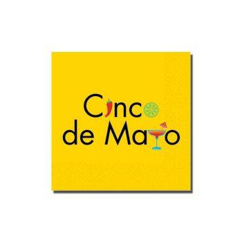 FESTIVE CINCO DE MAYO BEVERAGE NAPKINS