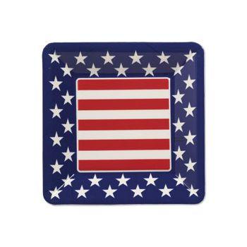 Patriotic Plastic Plate