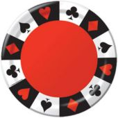 "Card Night 7"" Plates - 8 Pack"