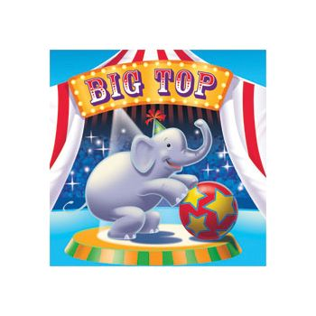 BIG TOP CIRCUS LUNCHEON  NAPKINS
