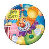 "Big Top Circus 7"" Plates - 8 Pack"