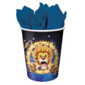 Big Top Circus 9 Oz. Cups - 8 Pack