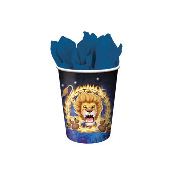 BIG TOP CIRCUS 9 oz. CUPS