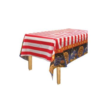 BIG TOP CIRCUS TABLE COVER