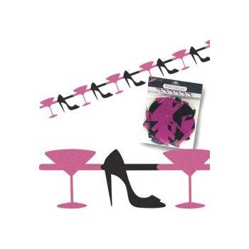 Martini & Heels Cutout Garland