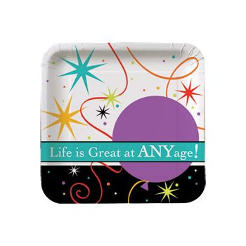 "LIFE IS GREAT 7"" PLATES"