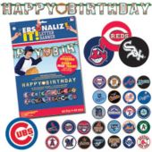 MLB decorations