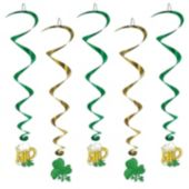 Shamrock & Beer Whirls-5 Pack