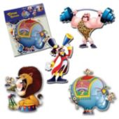 Circus Theme Cutouts-4 Per Unit