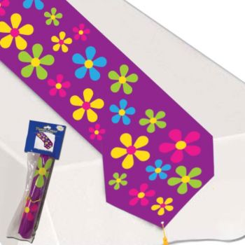 RETRO FLOWER TABLE RUNNER