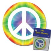 Peace Sign Coasters - 8 Pack