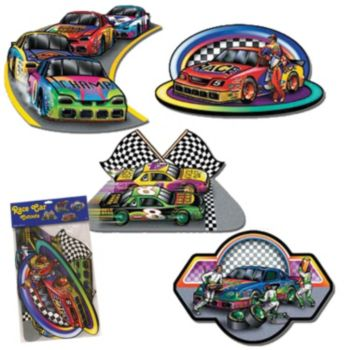 RACE CAR CUTOUTS