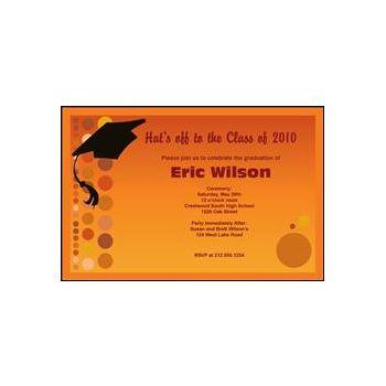 Graduation - Orange