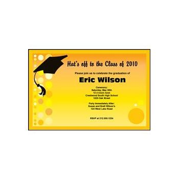 Graduation - Yellow