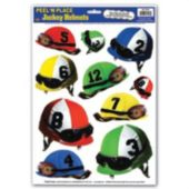 Jockey Cap Helmet Clings