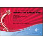 Shooting Star  Personalized Invitations