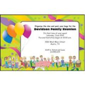 Family Reunion Personalized Invitations