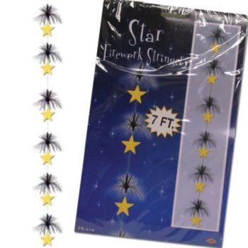 Black & Gold 7' Star Stringer