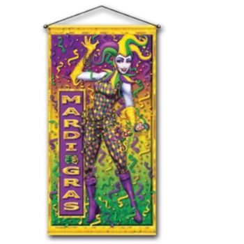 MARDI GRAS  DOOR PANEL