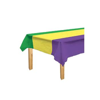 MARDI GRAS  TABLE COVER