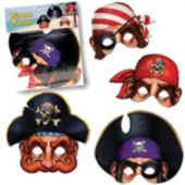 Pirate Masks - Unit of 4