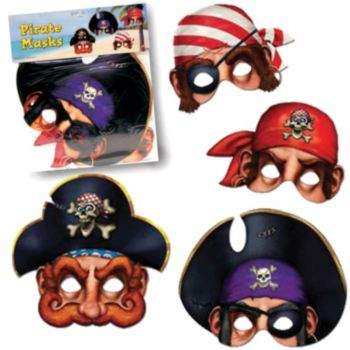 PIRATE MASKS