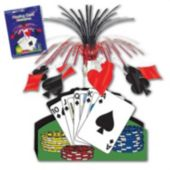 Playing Card Centerpiece-15""