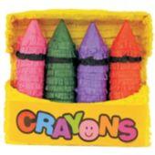 Crayon Box Pinata